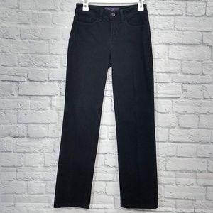NYDJ | Black Skinny Leg Black jeans